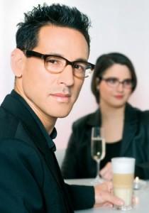 Die Brillenmode 2010 kommt auch im Business gut an / Foto © Martin und Martin