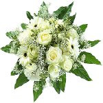 Weiße Blumen stehen für Reinheit  © flwoerdreams.de