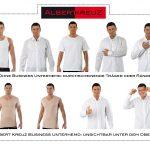 Mit Business Unterhemd unsichtbar unter dem Oberhemd