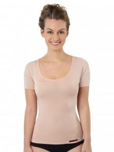 Unsichtbares Damen-Unterhemd Baumwolle