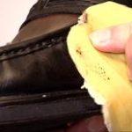 Tipp der Woche: Schneeränder an Schuhen entfernen