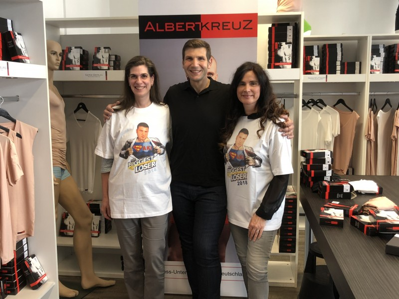 Biggest Loser Gewinnter 2018 Saki geht bei ALBERT KREUZ einkaufen