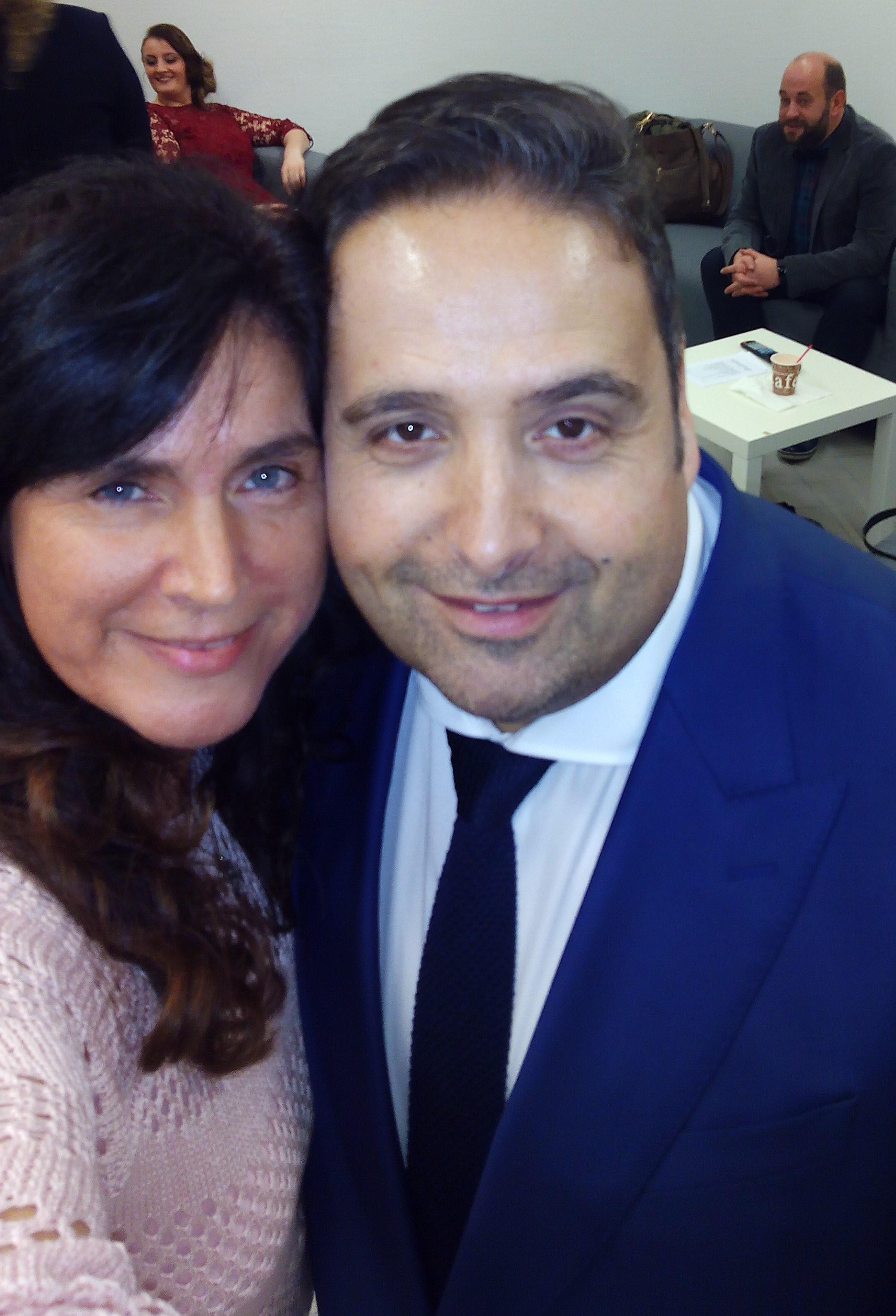 ALBERT KREUZ Marketing Managerin B. Moghim  mit Alfonso