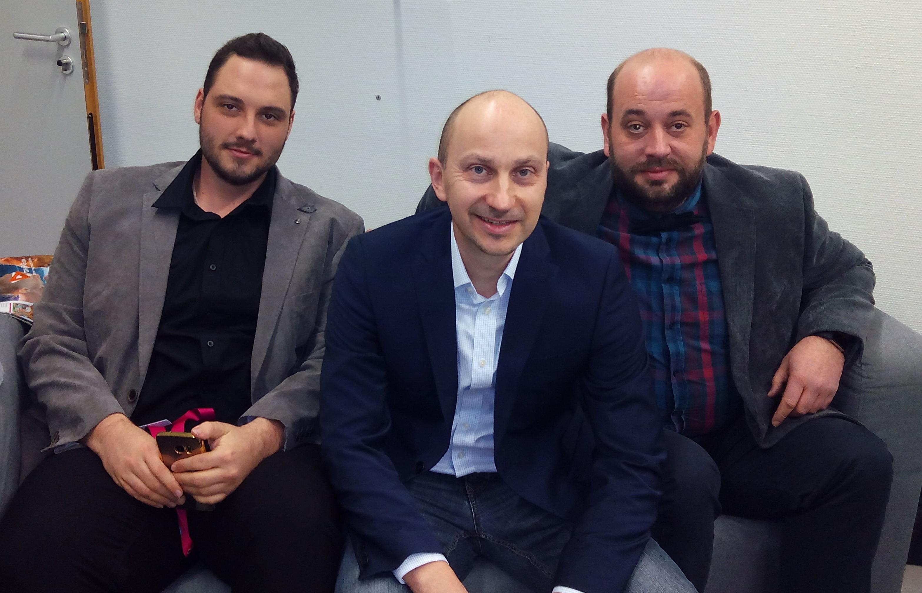 Maik, U. Schmidt und Björn
