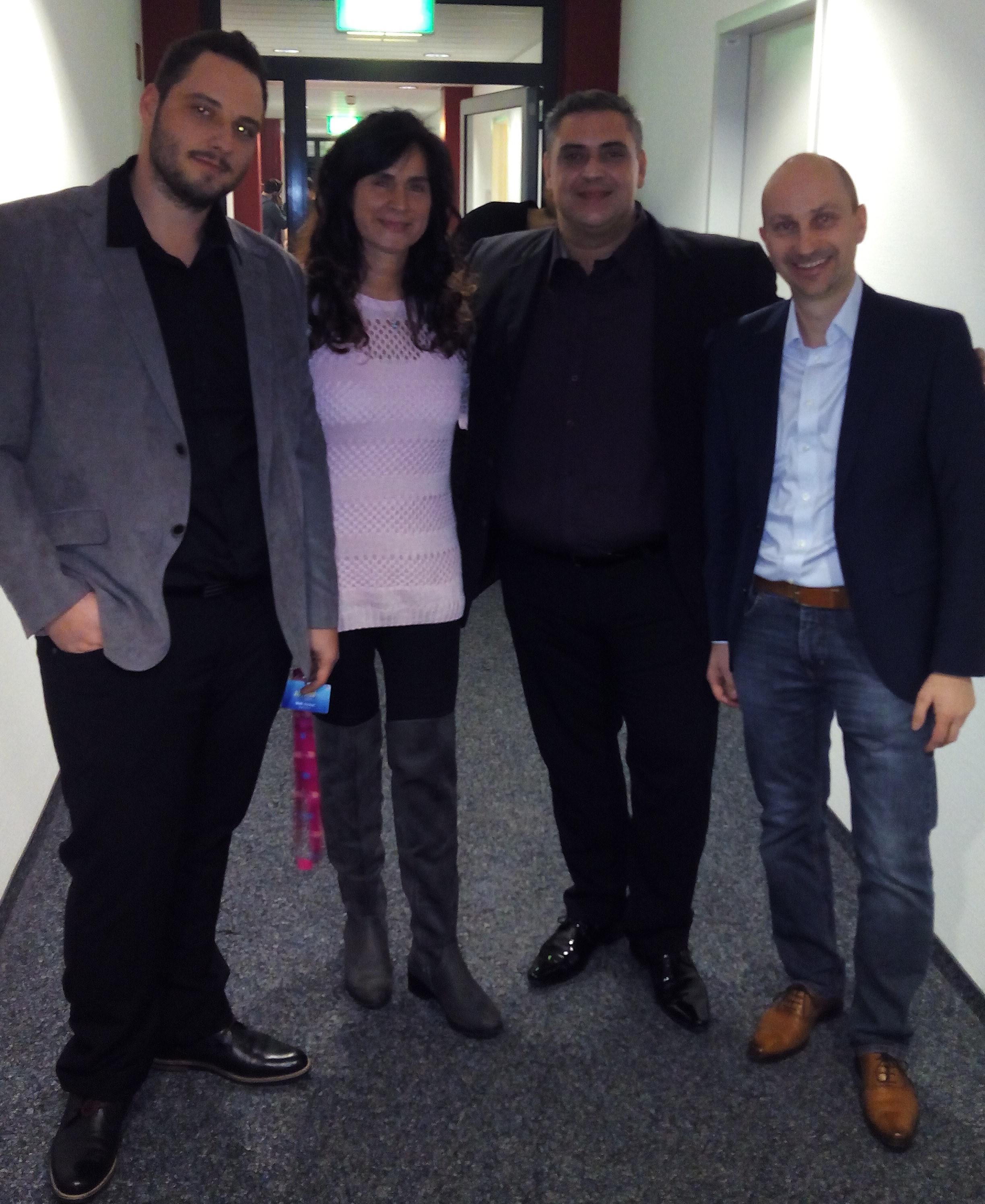 Maik, B.Moghim, Giuseppe und U. Schmidt