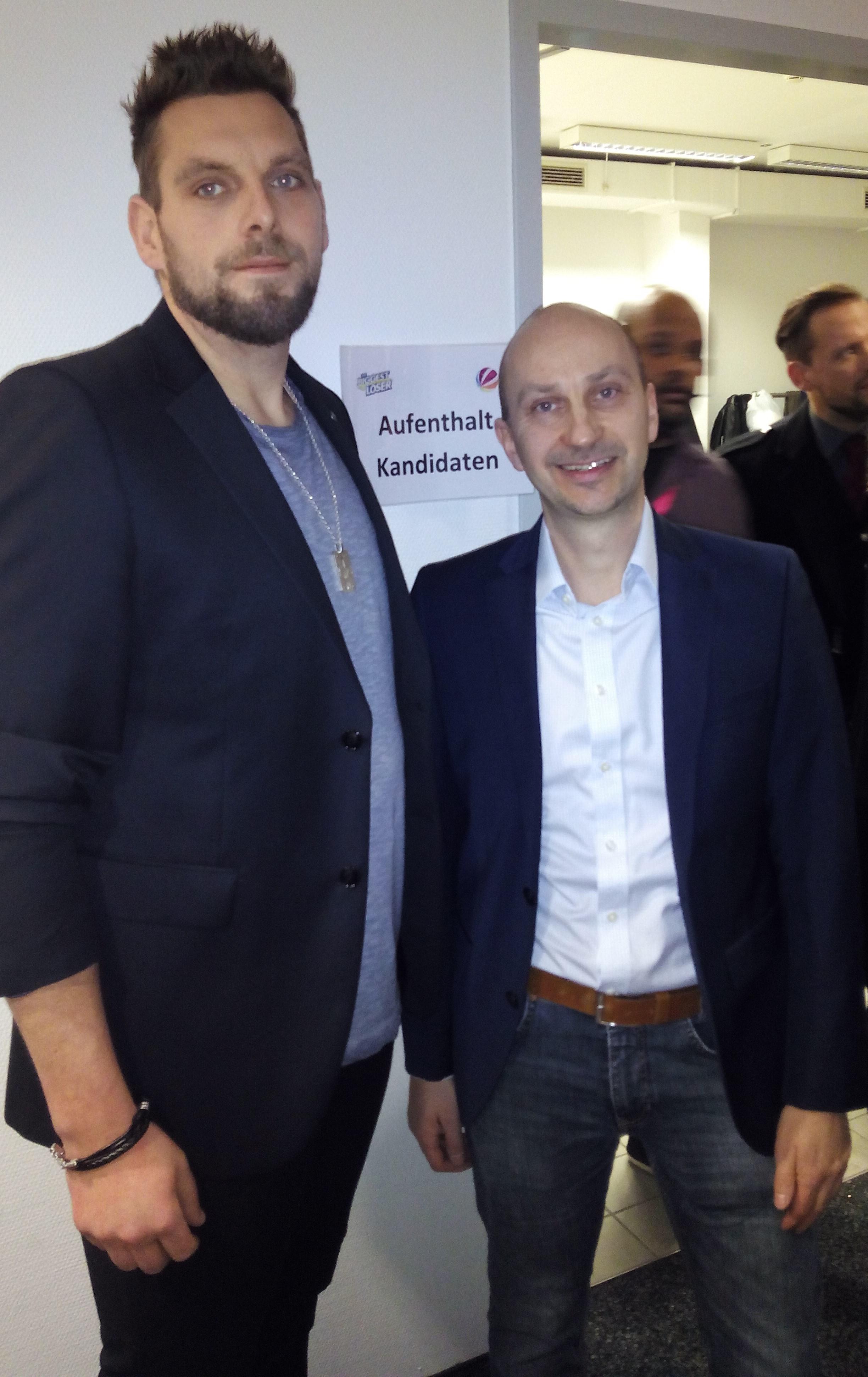 U. Schmidt mit Lukas