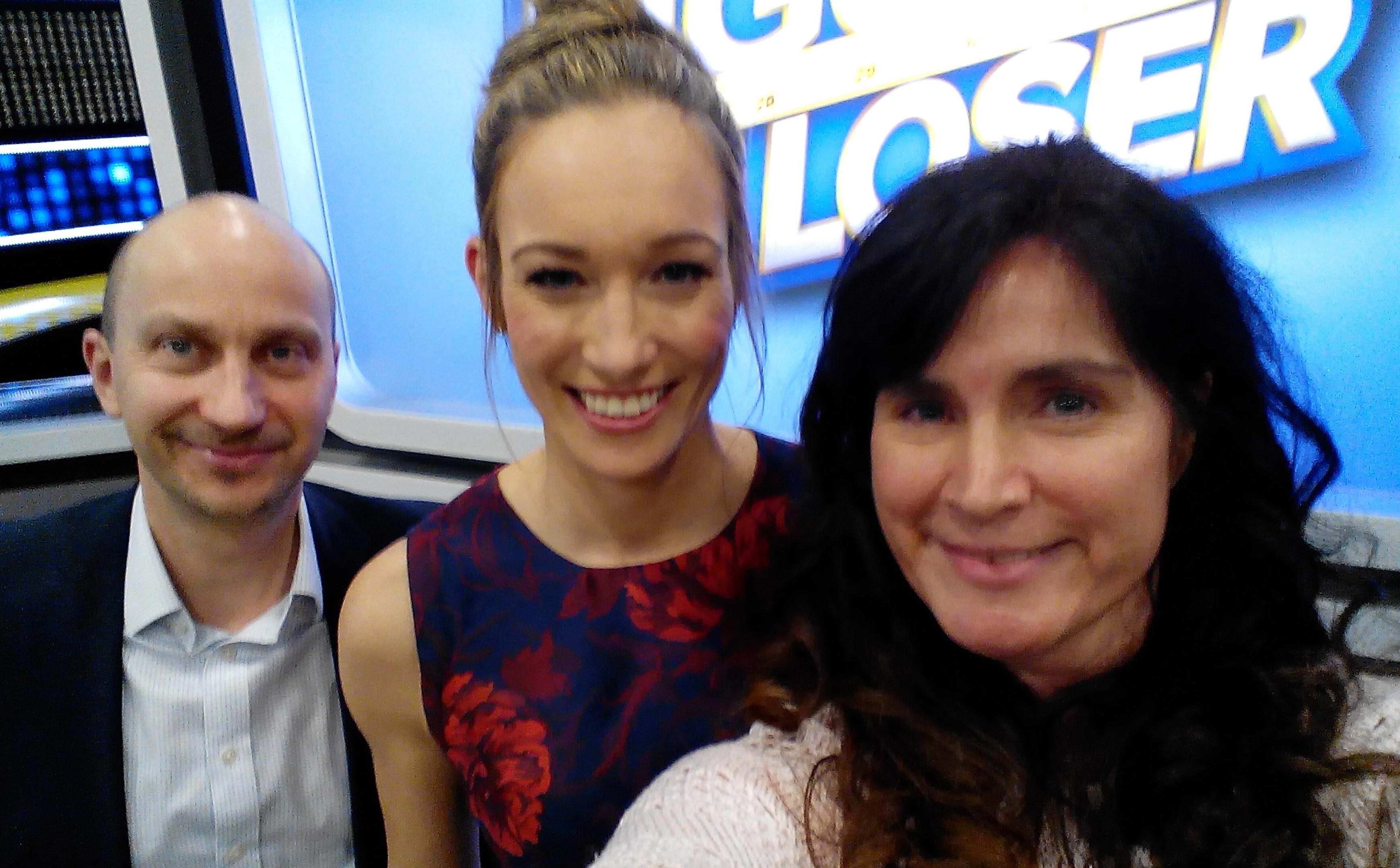 Team ALBERT KREUZ mit Dr. Christine Theiss bei The Biggest Loser Finale 2017