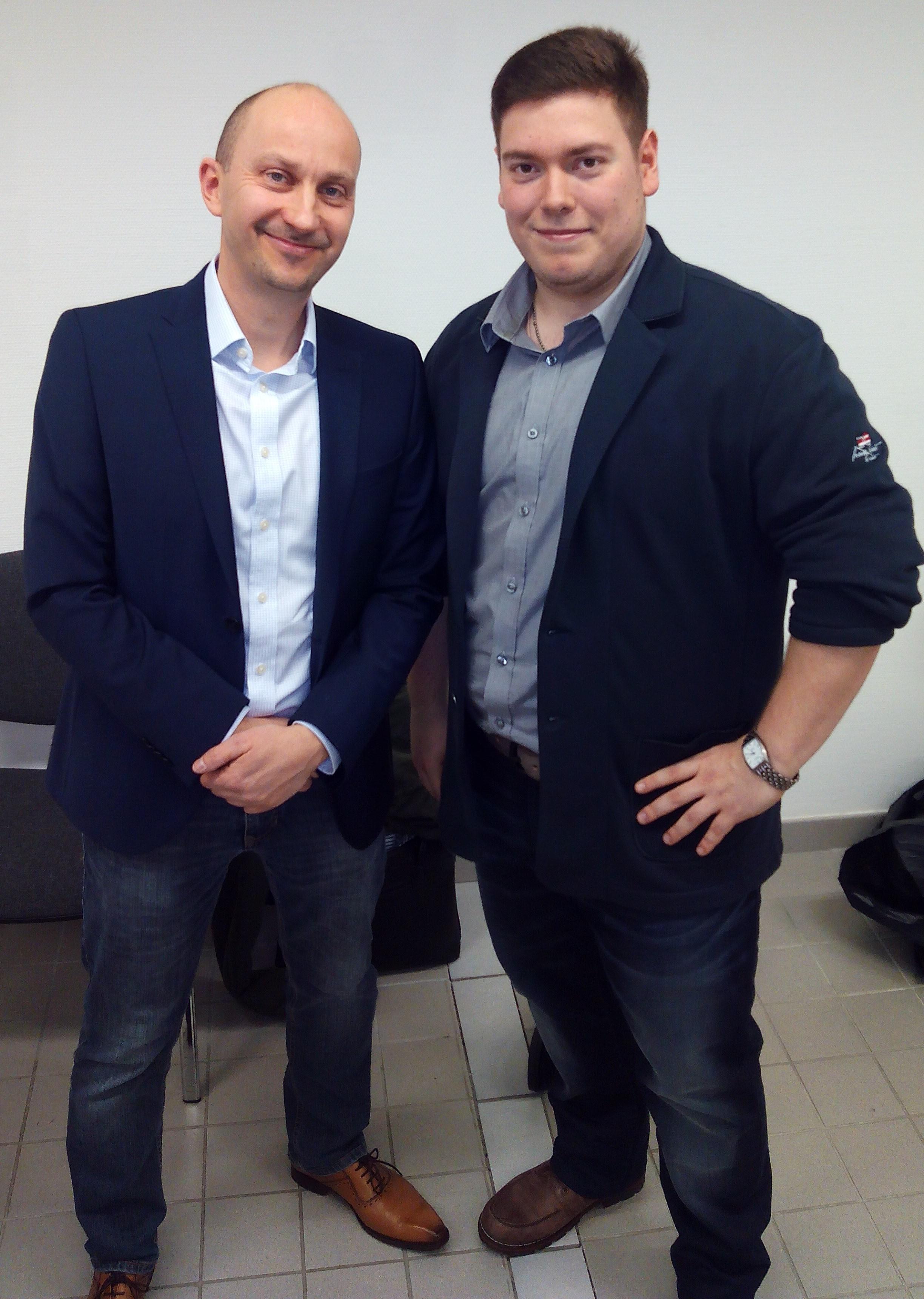 U. Schmidt mit Andrej