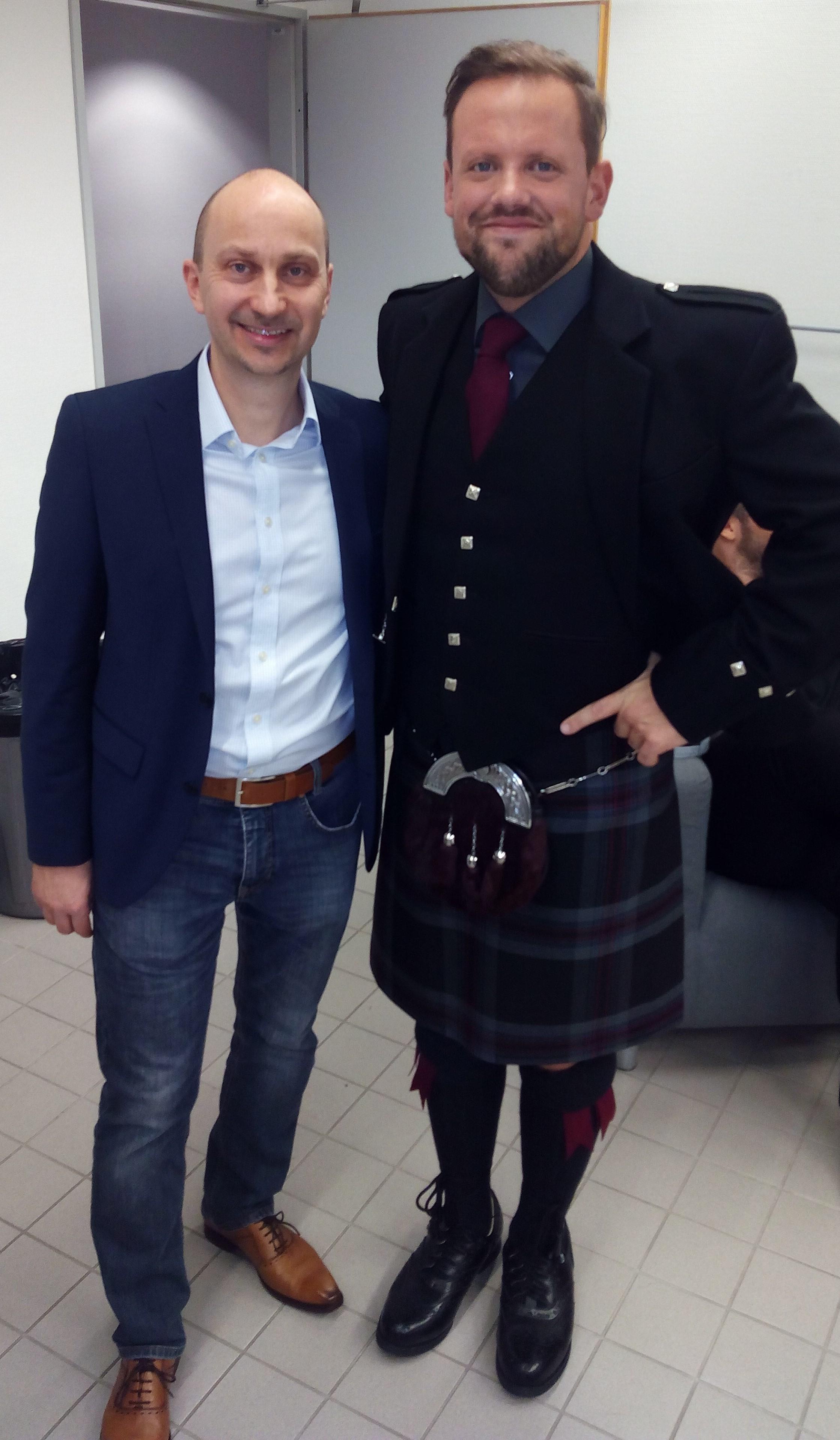 U. Schmidt mit David
