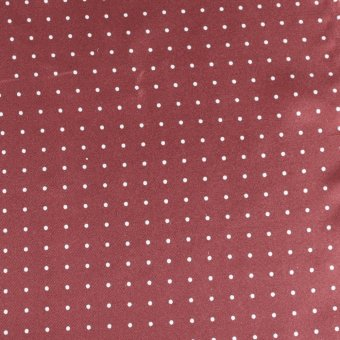 Krawatte Bordeaux mit Weißen Punkten, Dessin 200287