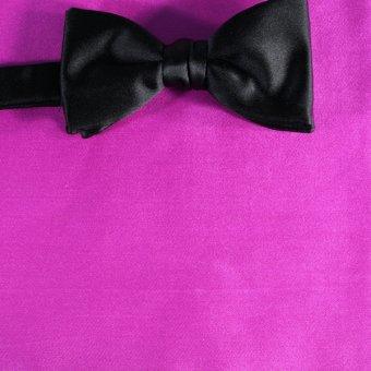 Schleife-Fliege Pink - Uni, Dessin 210043 Halsweite 41-42
