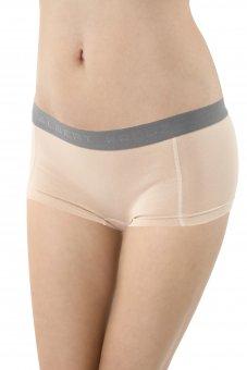 Damen Panty Boxershorts Stretch-Baumwolle Hautfarbe