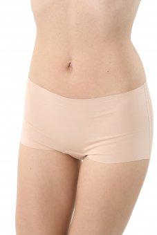 3er Pack Damen Panty Shorts unsichtbar Lasercut nahtlos Clean Cut Baumwolle Elastan
