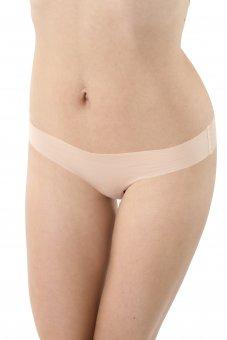 3er Pack Damen Tanga unsichtbar Lasercut nahtlos Clean Cut Baumwolle Elastan