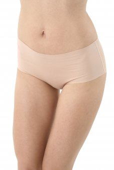 3er Pack Damen Taillenslip unsichtbar Lasercut nahtlos Clean Cut Baumwolle Elastan