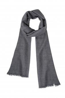 Cashmere Schal für Damen und Herren grau 200 x 65 cm