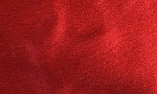 Krawattenschal Rot - Uni, Dessin 210045 Krawattenschal