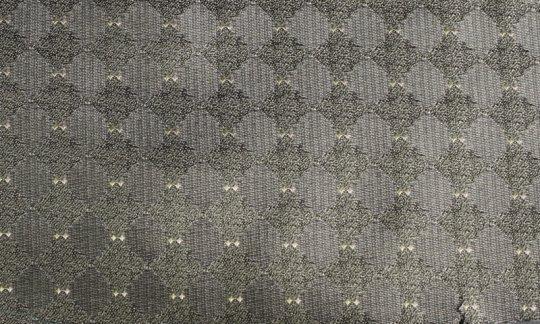 Einstecktuch Silber, Grünlich, Grau - gemustert, Dessin 200030