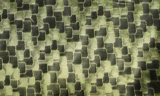 Krawattenschal Gruen - Ton in Ton, Dessin 200035