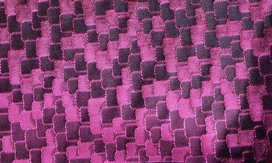 Kummerbund Weinrot, Violett - Ton in Ton, Dessin 200036