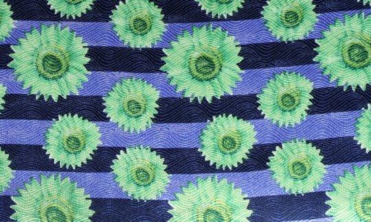 Einstecktuch Gruen, Blau - Motive, Dessin 200042