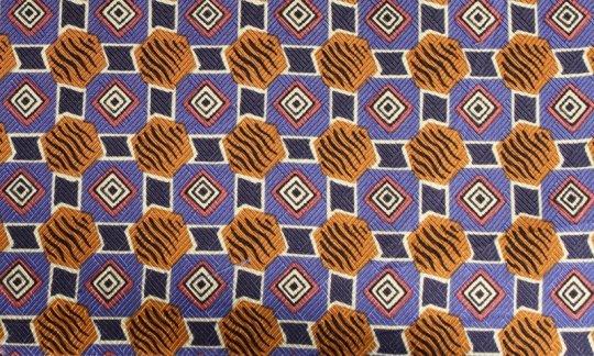 Einstecktuch Flieder, Weiß, Braun - gemustert, Dessin 200053
