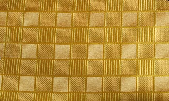 Einstecktuch Gelb, Gold - Ton in Ton, Dessin 200078