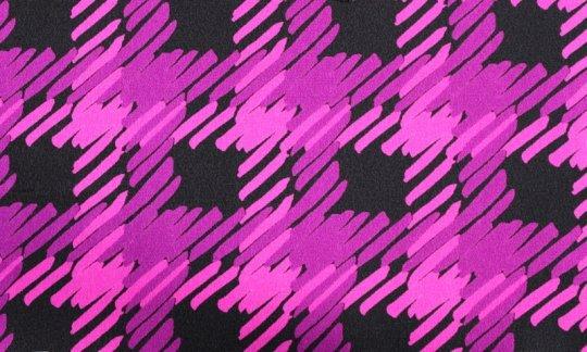 Krawatte Schwarz, Weinrot, Violett - gemustert, Dessin 200095