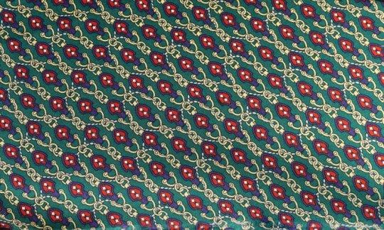 Krawattenschal Gelb, Gruen, Gold, Blau, Marine, Weinrot - Motive, Dessin 200118