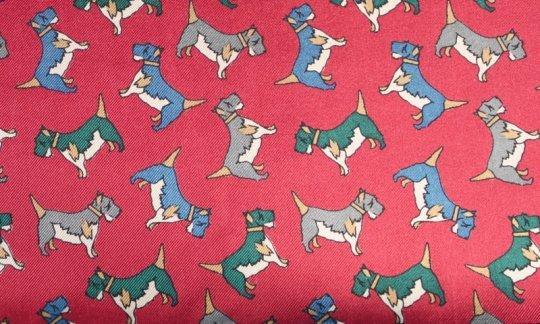 Krawatte Rot, Weinrot - Motive, Dessin 200123