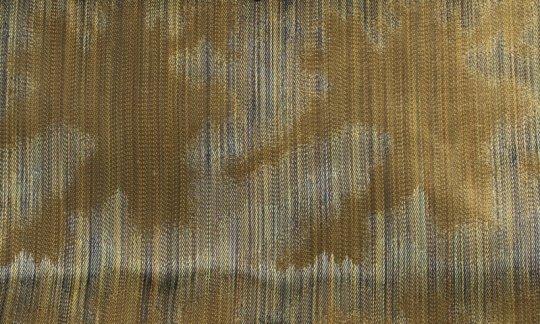 Krawatte Gruen, Gold - gemustert, Dessin 200167