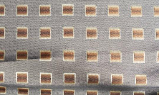 Krawatte Gelb, Braun, Creme - Karos, Dessin 200173