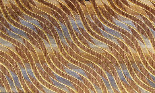 Einstecktuch Gold, Braun - gemustert, Dessin 200177