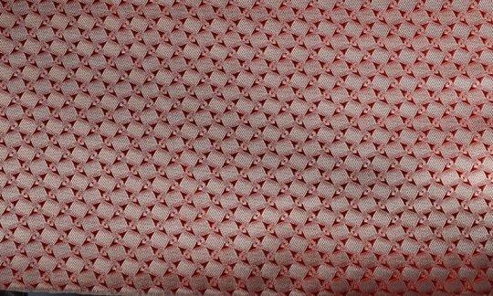 Kummerbund Rot, Creme, Terracotta - Karos, Dessin 200185