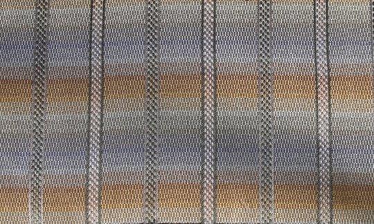Einstecktuch Silber, Gold - Streifen, Dessin 200233