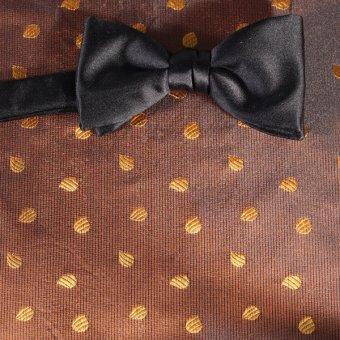 Schleife-Fliege Gelb, Gold - Motive, Dessin 200260
