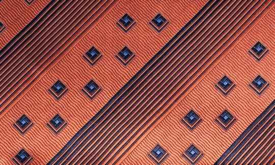 Einstecktuch Braun, Grau - gemustert, Dessin 200266