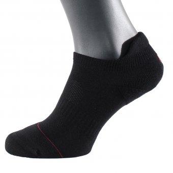 Sneaker Socken Herren Füßlinge Schwarz 42-44