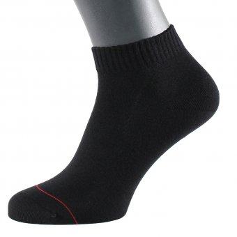 Sneaker Socken Herren Schwarz 48-50