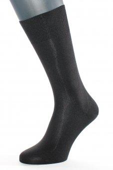 """""""Die Elegante aus Seide"""" - Socken schwarz"""