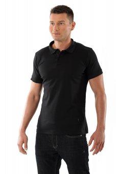 "Herren Poloshirt ""Business"" Schwarz"
