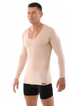 Business Unterhemd Langarm unsichtbares Unterhemd