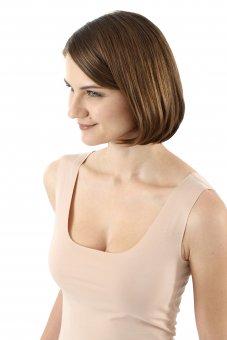 damen unterhemd unsichtbar lasercut nahtlos clean cut