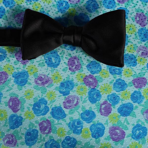 Schleife fliege gelb gruen blau violett blumen for Blumen fliegen