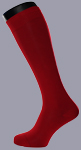 Herren Kniestrumpf Rot